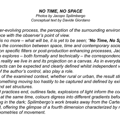 1-No Time No Space Philosophy
